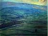 Autumn Sunset: Upper Wensleydale from Ellerkin