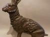 hare-crouching